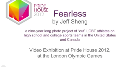"PICK OF THE DAY: ""LONDON OLYMPICS 2012 SHOWCASES PHOTOS OF GAY AND LESBIAN ATHLETES"" *VIDEO"