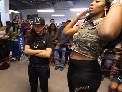 Battle: @QOTRING: MsDotFit (@MsDotFit1) Vs MsHustle (@MsHuSTLe127)
