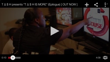 "Music Promo Video: TA$H – ""TA$H IS MOR£ "" (Epilogue) [@WhoIsTashMoney]"