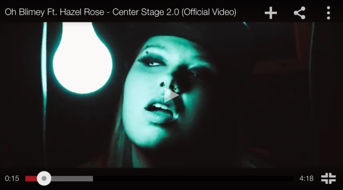 "#MusicVideo: @OhBlimeyTheKid – ""Center Stage"" ft Hazel Rose"