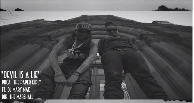 "#MusicVideo: ""DEVIL IS A LIE"" FT. POCA @THEPAPERGIRL, @DJMARYMAC #5STARRemix"