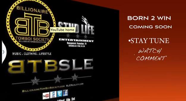 """#VideoPromo: StudLyfeEntertainment – """"BornToWin"""""""