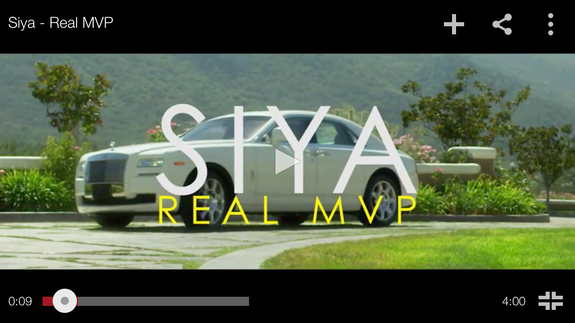 """#MusicVideo: @Siya – """"The Real MVP"""""""