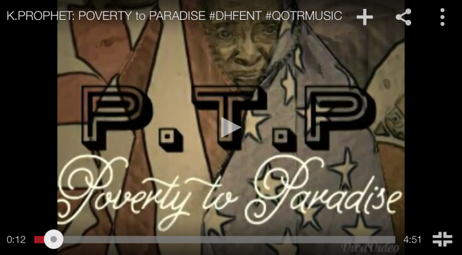 "#Audio: @KayProphet – ""Poverty To Paradise"""