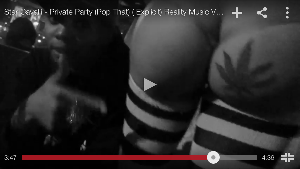 "#MusicVideo: @StarCavalli – ""Private Party"""