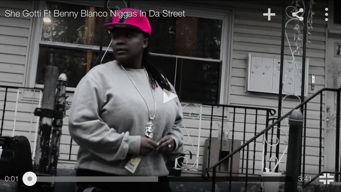 """#MusicVideo: SheGotti """"Niggas in da street"""" FT Benny Blanco"""