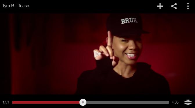 "#MusicVideo: Tyra B – ""Tease"" [@itstyrab]"