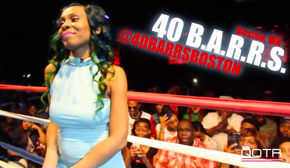 #Battles: 40 BARRS vs CHAYNA ASHLEY #QOTR