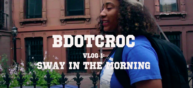 "#Vlog: @BdotCroc – ""Sway In The Morning"""