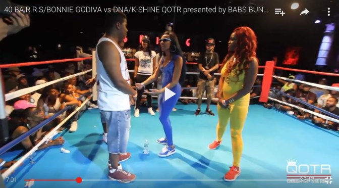 #BattleRap: @qotring #Bonnie&40Barrs Vs DNA&KShine #URLtv