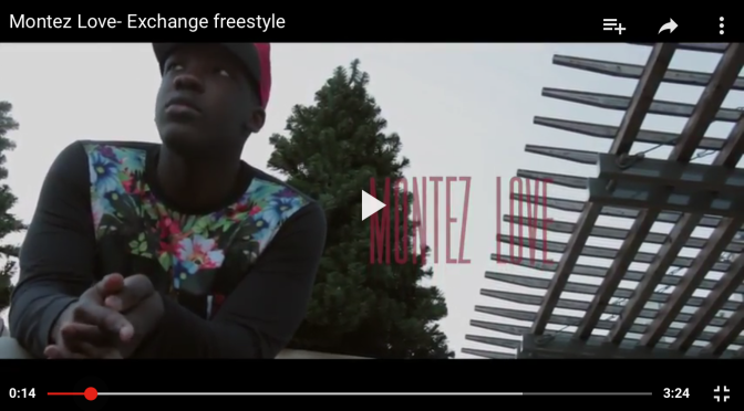 "#MusicVideo: @MontezLove – ""Exchange"" freestyle"