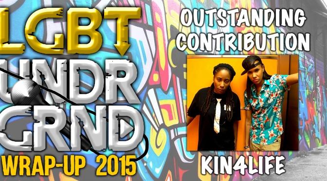 #WrapUp2015: Outstanding Contribution – Kin4Life [@Kin4Life]