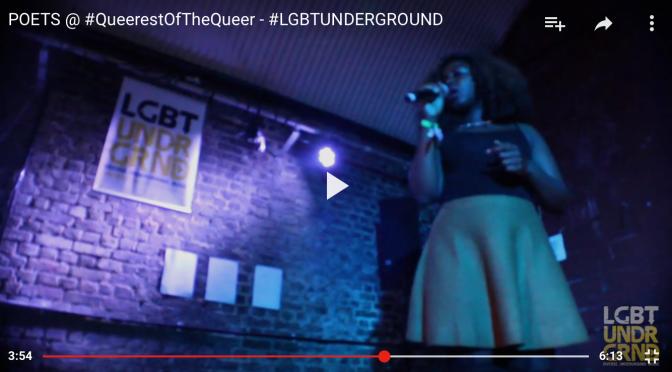 POET'S @ #QueerestOfTheQueerFestival – #LGBTUNDERGROUND