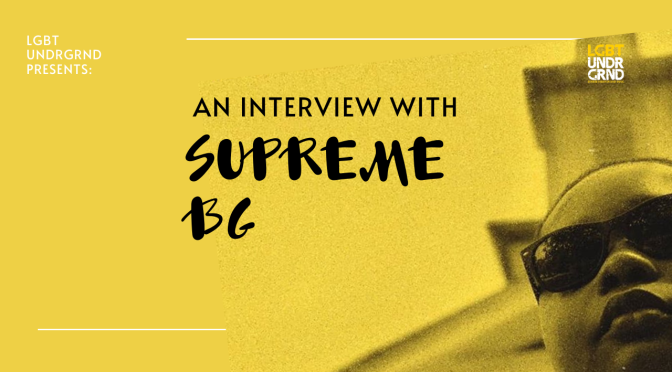 Supreme BG Interview